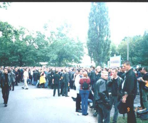 2001.09.02 Wyjazd na Służewiec